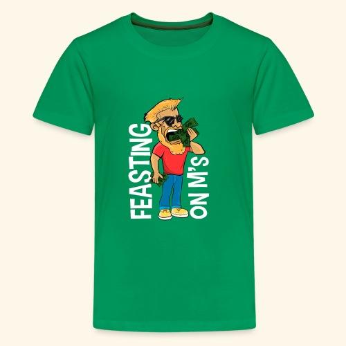 Feasting on M's - Kids' Premium T-Shirt