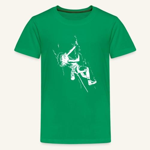 Fight Gravity 80s - white - Kids' Premium T-Shirt
