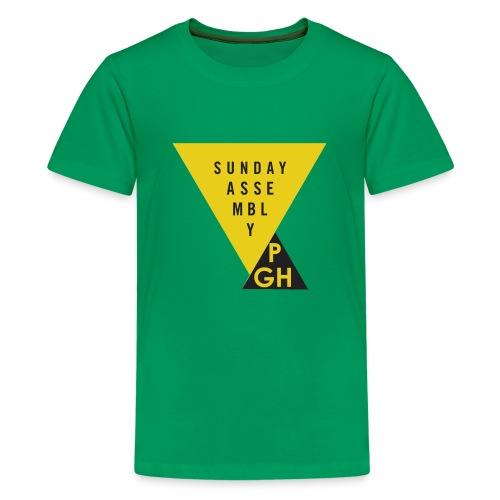 Sunday Assembly Pittsburgh Logo - Kids' Premium T-Shirt