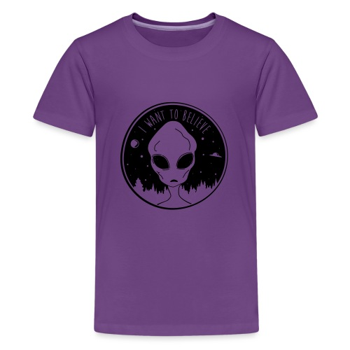 I Want To Believe - Kids' Premium T-Shirt