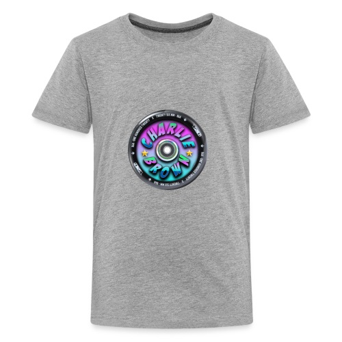 Charlie Brown Logo - Kids' Premium T-Shirt