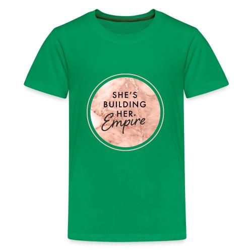 She's Building Her Empire - Kids' Premium T-Shirt