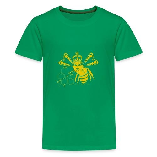 11HydroxyCompoud FemaleBee Shirt Gold Final 01 - Kids' Premium T-Shirt