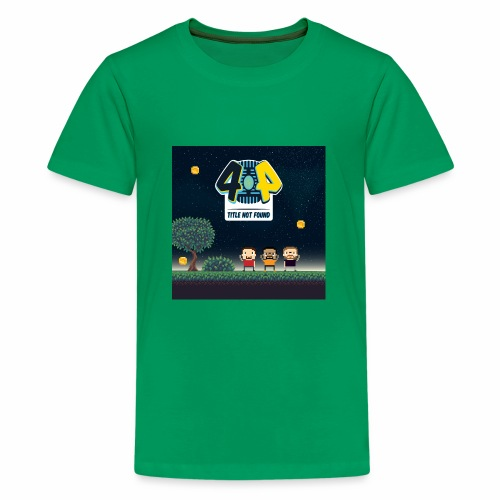 Logo and avatars - Kids' Premium T-Shirt