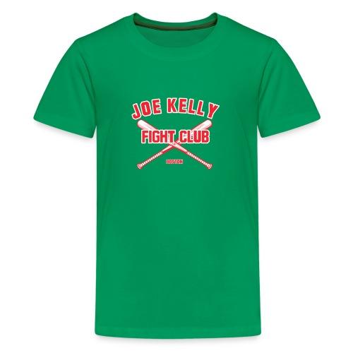 Red Tee Joe Kelly logo - Kids' Premium T-Shirt