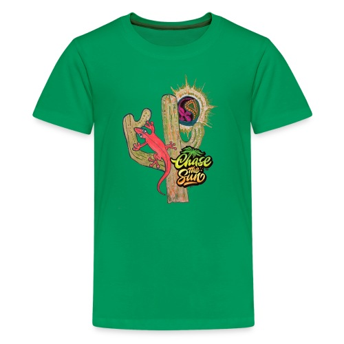 Chase the sun - Kids' Premium T-Shirt