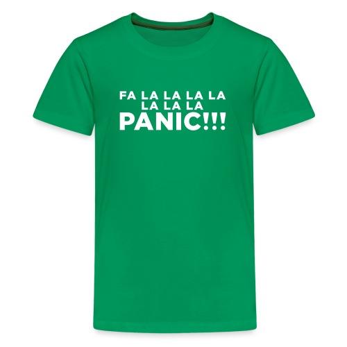 Funny ADHD Panic Attack Quote - Kids' Premium T-Shirt