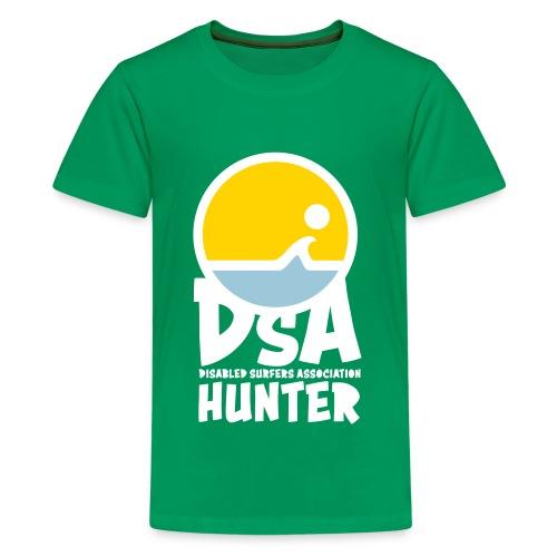 DSA Hunter - Light Logo - Kids' Premium T-Shirt