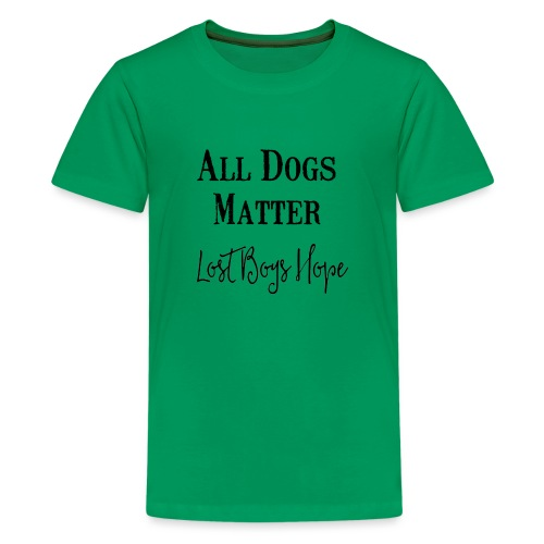 all dogs - Kids' Premium T-Shirt