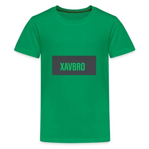 xavbro green logo - Kids' Premium T-Shirt