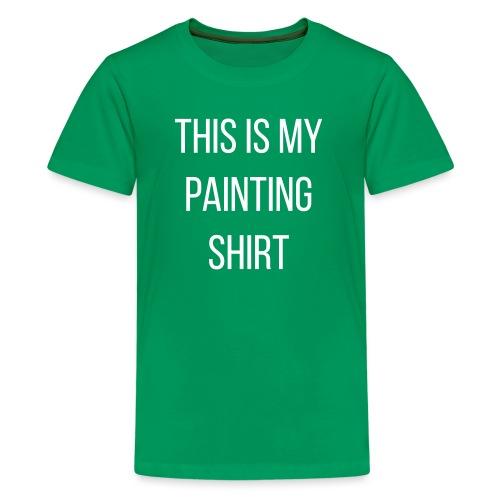 My Painting Shirt - Kids' Premium T-Shirt