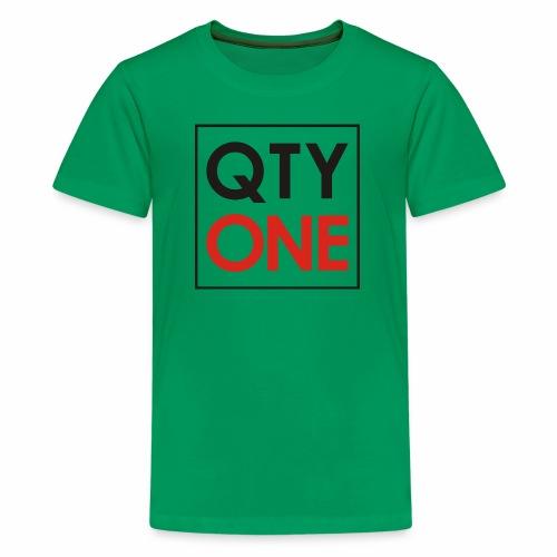 QTYONE Logo - Kids' Premium T-Shirt