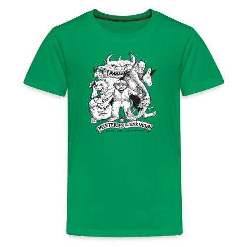 mysteriesfinal png - Kids' Premium T-Shirt
