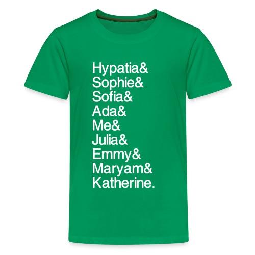 Women in Math & Me! - Kids' Premium T-Shirt