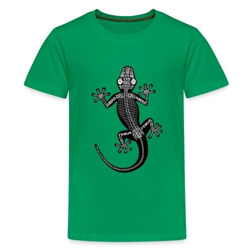 Skeleton Gecko - Kids' Premium T-Shirt
