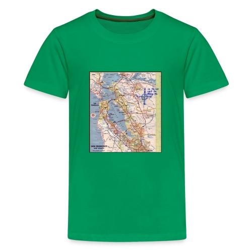 Phillips 66 Zodiac Killer Map June 26 - Kids' Premium T-Shirt