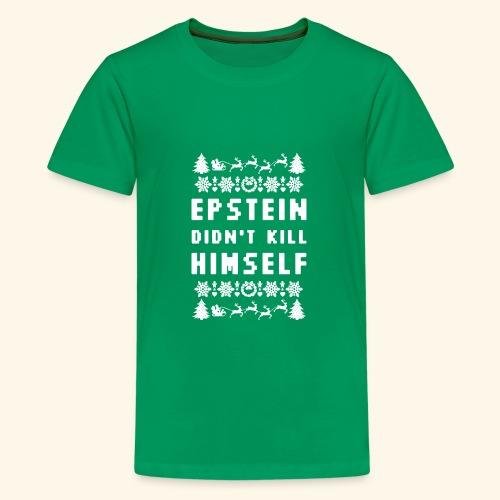 Epstein Didn t Kill Himself Christmas - Kids' Premium T-Shirt