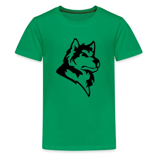 wolf or wolves or huskies custom - Kids' Premium T-Shirt