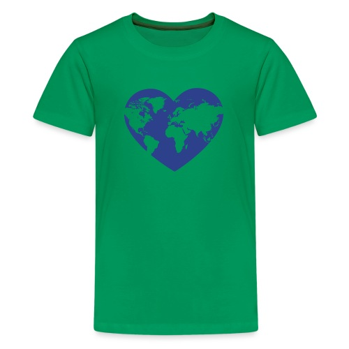 Earth Love - Kids' Premium T-Shirt