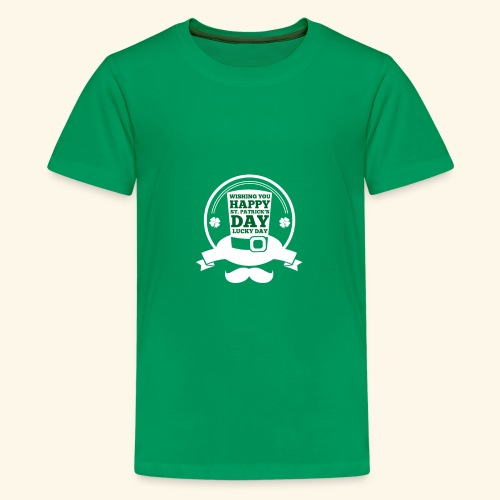 patrick day - Kids' Premium T-Shirt