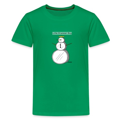little drummer boy drumset - Kids' Premium T-Shirt
