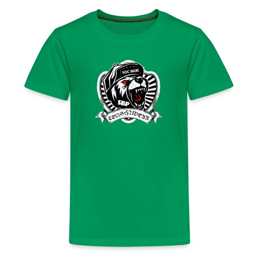 CONSHA WEAR TIGER HEAD LOGO SOC MOB SBP - Kids' Premium T-Shirt