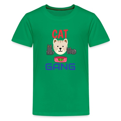 Cat Gang - Kids' Premium T-Shirt