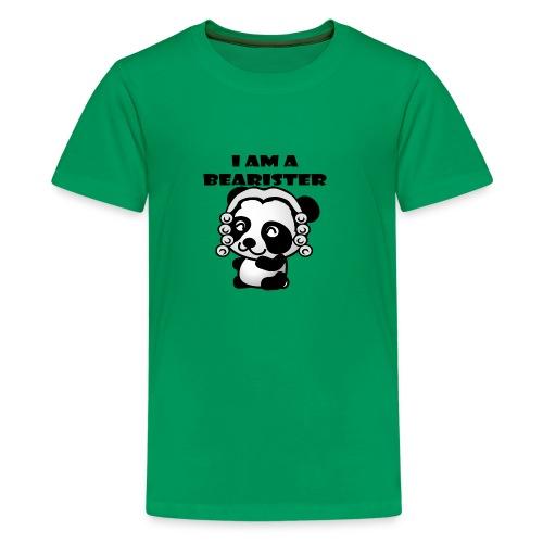 I am a bearister - Kids' Premium T-Shirt
