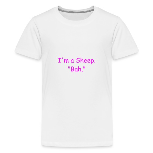 I'm a Sheep. Bah. - Kids' Premium T-Shirt