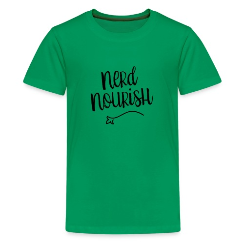 Nerd Nourish - Kids' Premium T-Shirt