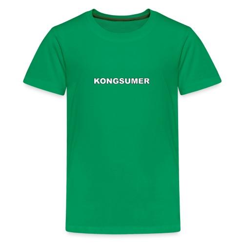 Kongsumer Logo - Kids' Premium T-Shirt