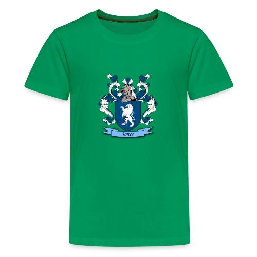 Jones Family Crest - Kids' Premium T-Shirt