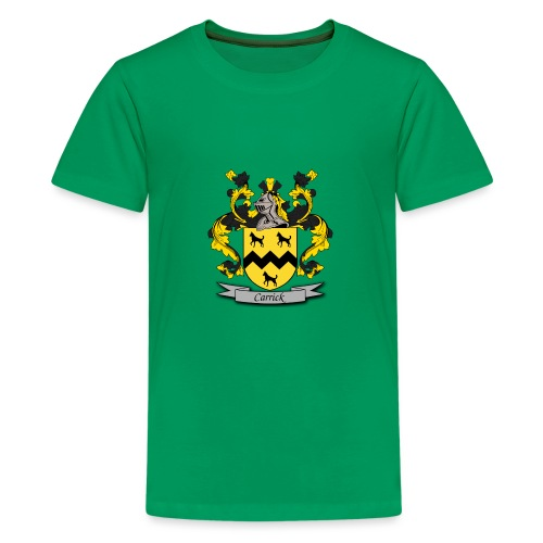 Carrick Family Crest - Kids' Premium T-Shirt