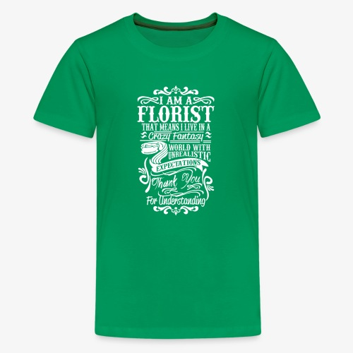 i am a florist - Kids' Premium T-Shirt