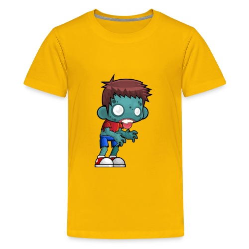 male zombie - Kids' Premium T-Shirt