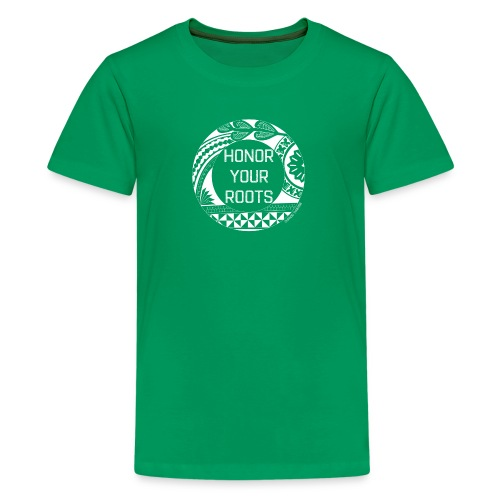 Honor Your Roots (White) - Kids' Premium T-Shirt