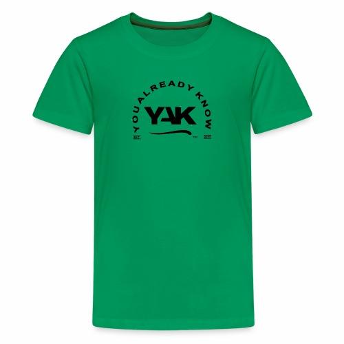 YAK Logos 10 - Kids' Premium T-Shirt