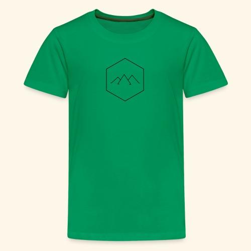 Mountain Hex - Kids' Premium T-Shirt