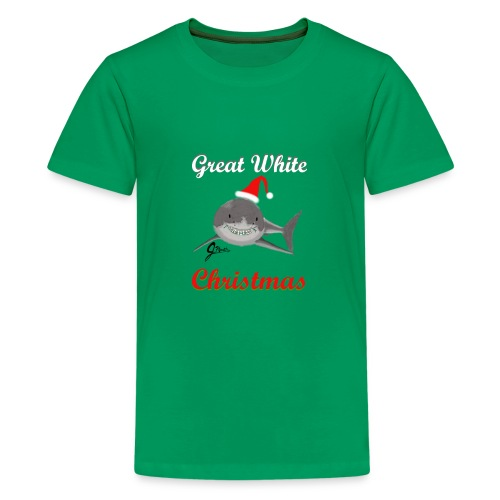 Dreaming of a Great White Christmas - Kids' Premium T-Shirt