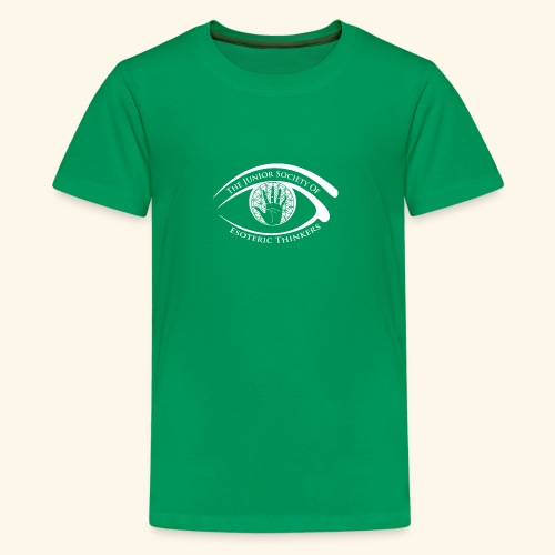 Society of Esoteric Thinkers white logo - Kids' Premium T-Shirt
