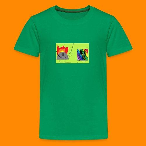 burn - Kids' Premium T-Shirt