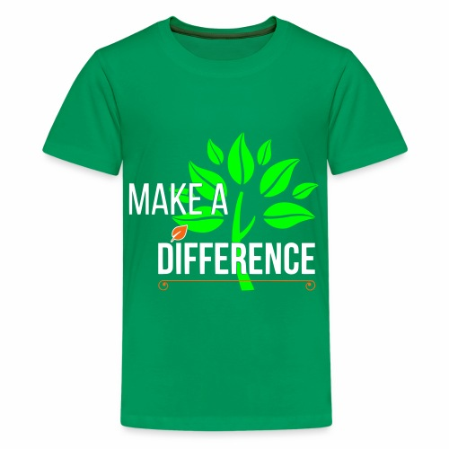 TLG - Make a Difference - Kids' Premium T-Shirt