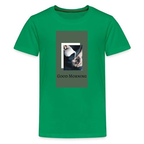 Good Mornig - Kids' Premium T-Shirt