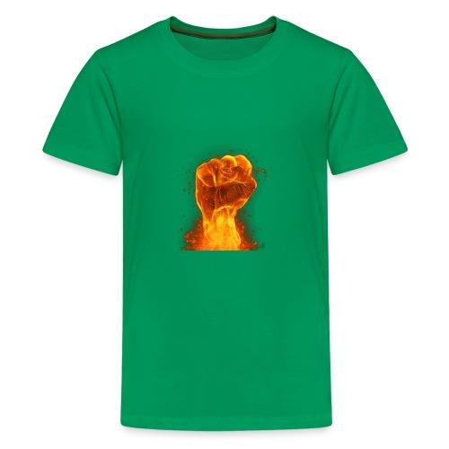 FIST OF FIRE - Kids' Premium T-Shirt