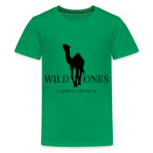 WILD ONES Camel Logo 2 - Kids' Premium T-Shirt