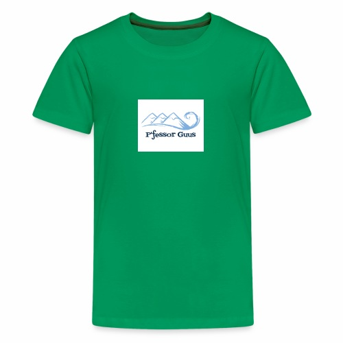 Pfessor Guus Mountains & Waves - Kids' Premium T-Shirt
