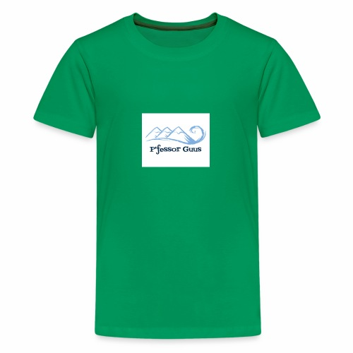 Pfessor Guus Mountains & Waves - Kids' Premium T-Shirt