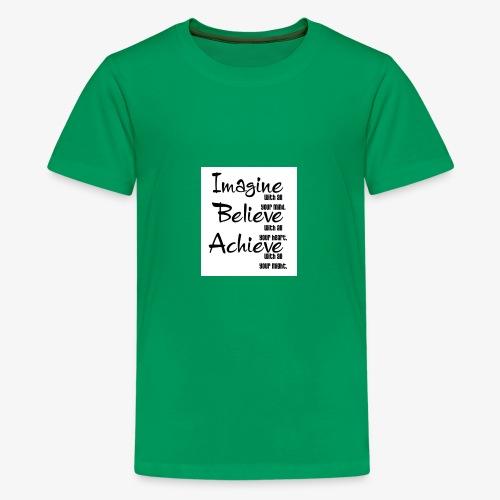 whitney port motivational quotes 7 600x679 - Kids' Premium T-Shirt
