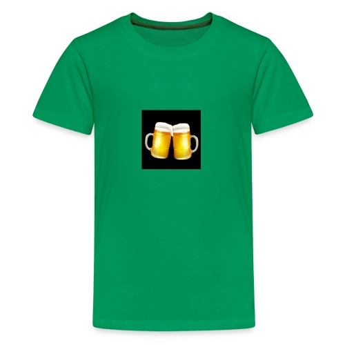 Beer Mugs - Let's Cheers! - Kids' Premium T-Shirt