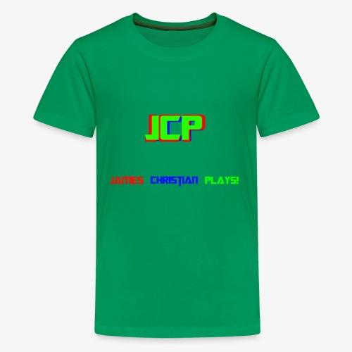 James Christian Plays! - Kids' Premium T-Shirt